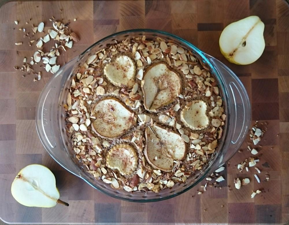 Spiced Pear Tea Cake 032217